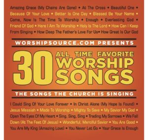 30 all time favorite worship songs