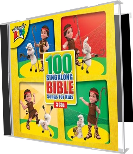 100 Sing Along Bible Songs For Kids 3cd