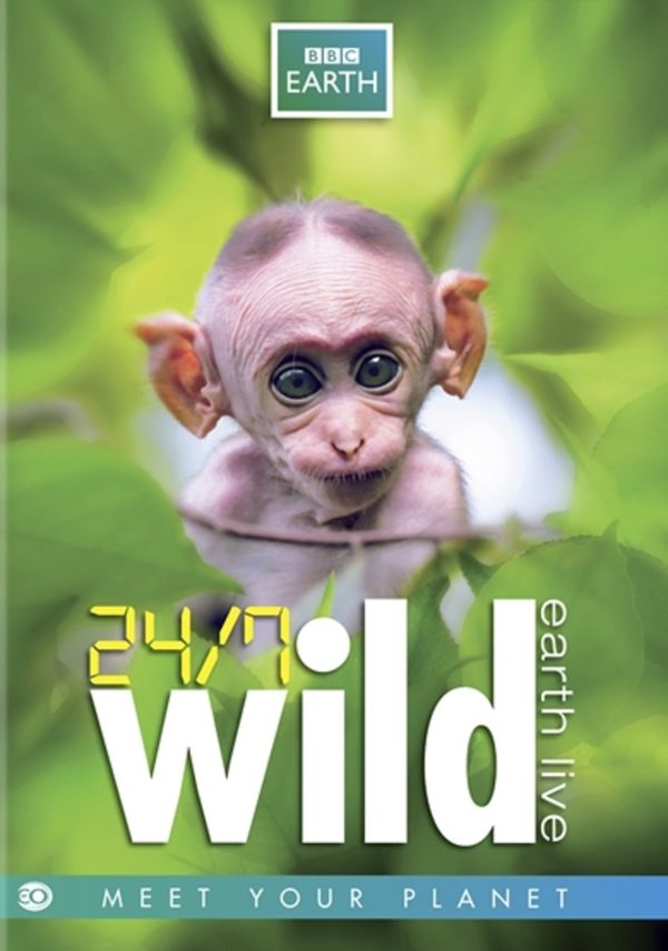 24/7 Wild - Earth Live (EO-BBC Earth DVD)
