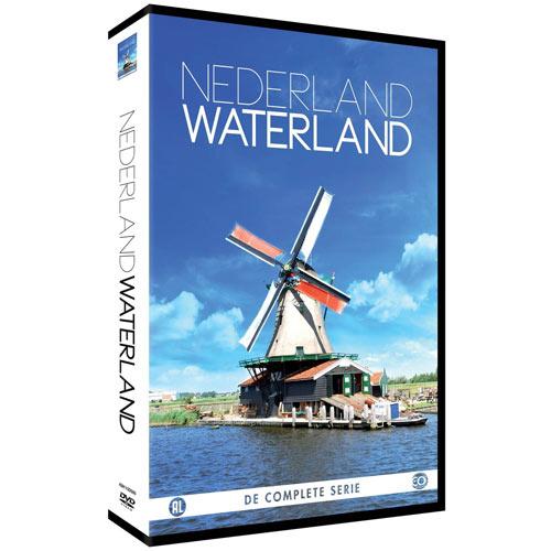 Nederland Waterland met alle vaarroutes (EO-DVD / Deluxe editie)