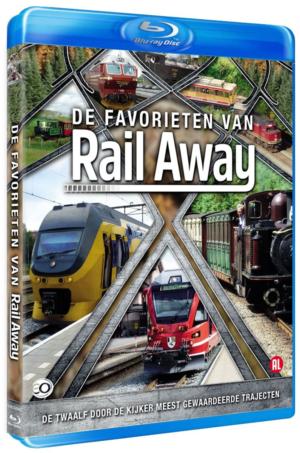 De Favorieten van Rail Away (blu-ray)
