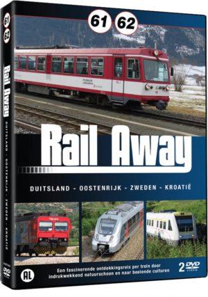 Rail Away 61/62 (Duitsland/Oostenrijk/Zweden/Kroatie)