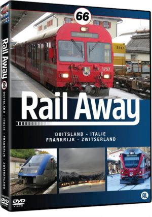 Rail Away 66 (Duitsland/Italie/Frankrijk/Zwitserland)